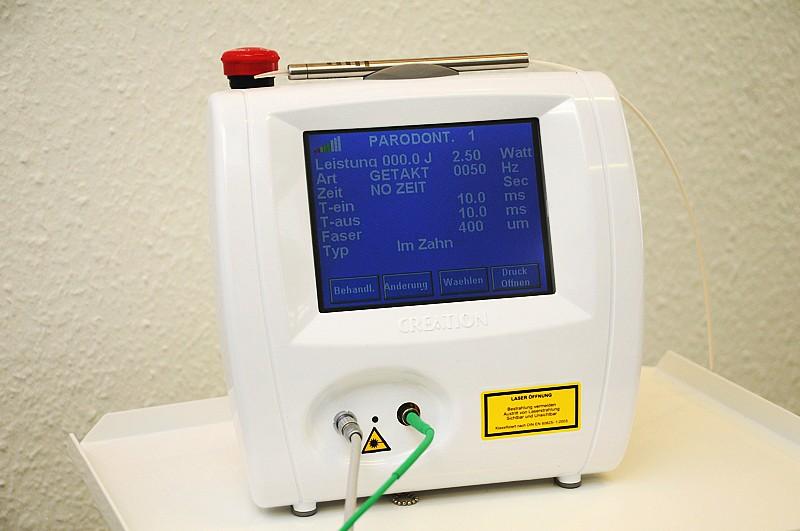 Moderne Lasertechnik